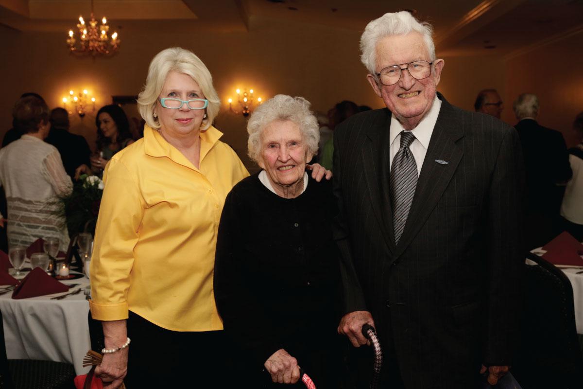 COL. ROBERT & MRS. CORA JANE SPILLER at CFSKY 2017 awards banquet