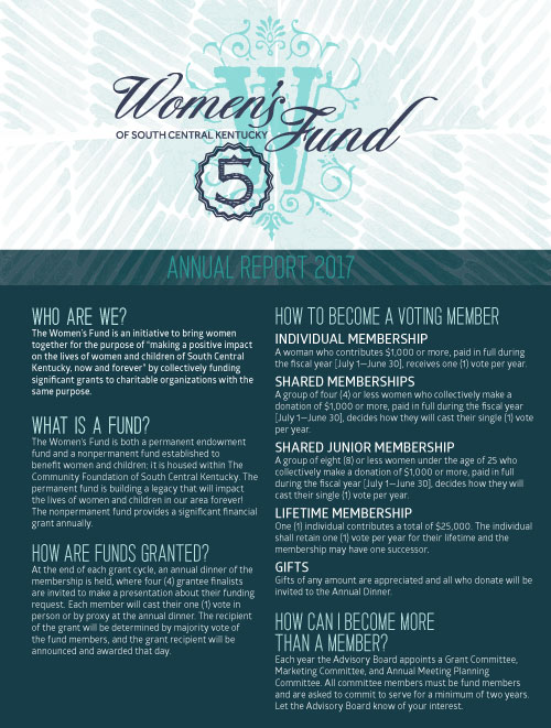 women's fund annual report 2017